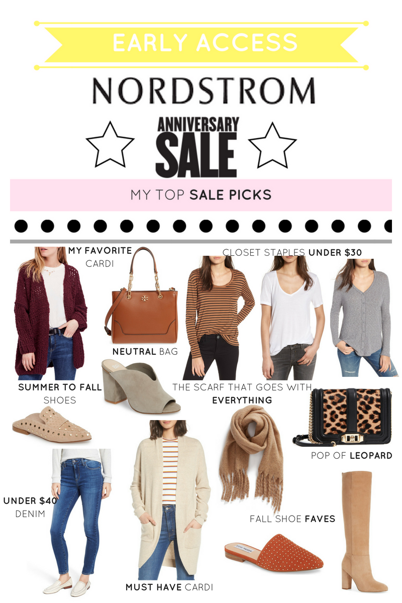 NORDSTROM ANNIVERSARY SALE 2018: EARLY ACCESS PICKS + SHOPPING TIPS