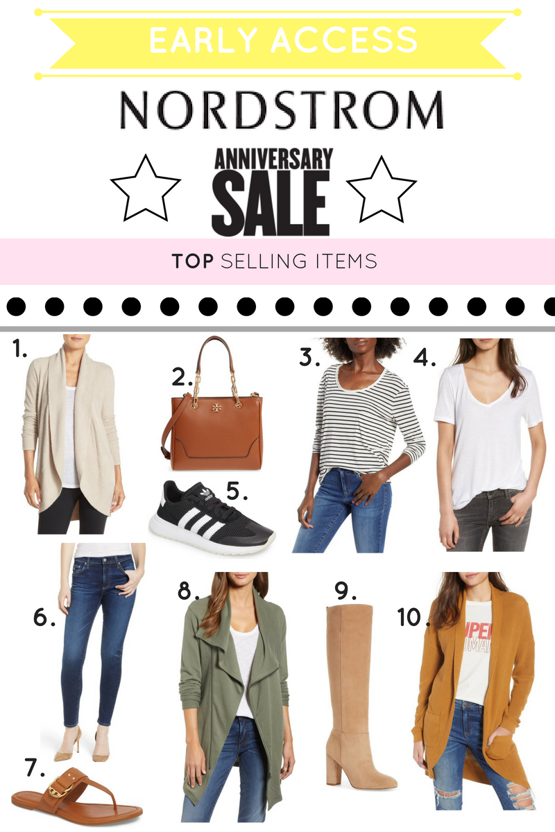 NORDSTROM ANNIVERSARY SALE 2018: TOP SELLING ITEMS & A GIVEAWAY