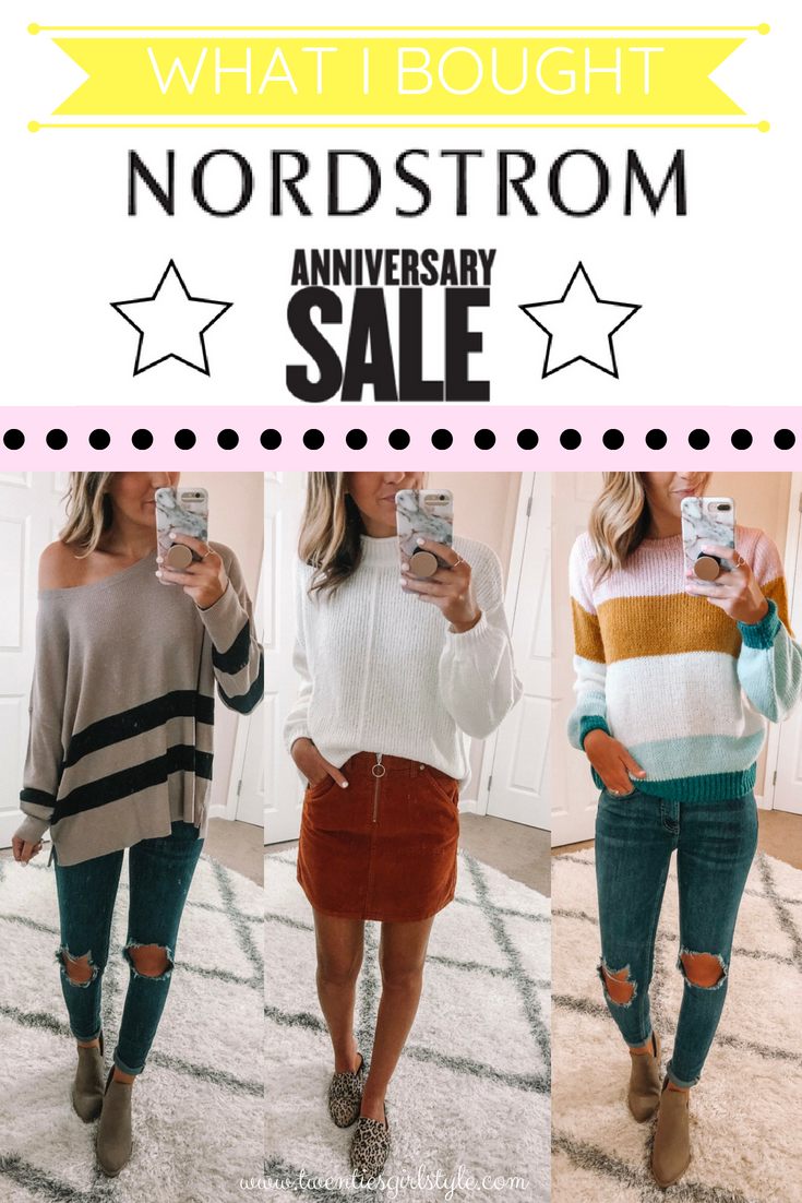 NORDSTROM ANNIVERSARY SALE 2018: Review of What I Bought! - Twenties ...