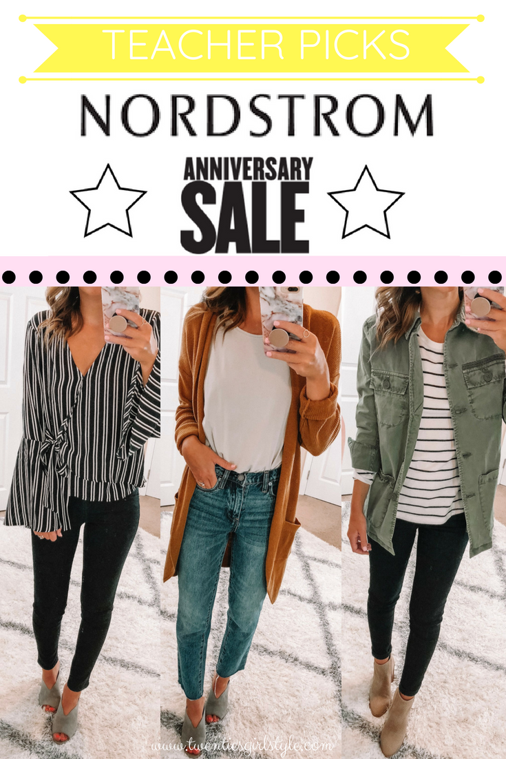 NORDSTROM ANNIVERSARY SALE 2018: Teacher Picks & Classroom Outfit Ideas