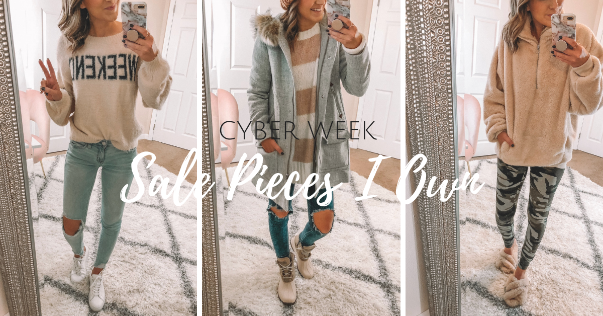 Cyber Week 2018 – Sale Pieces I Own