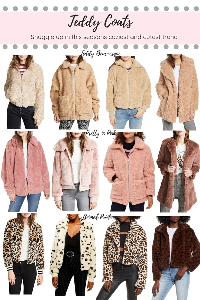 12 Teddy Coats to Snuggle Up in This Season