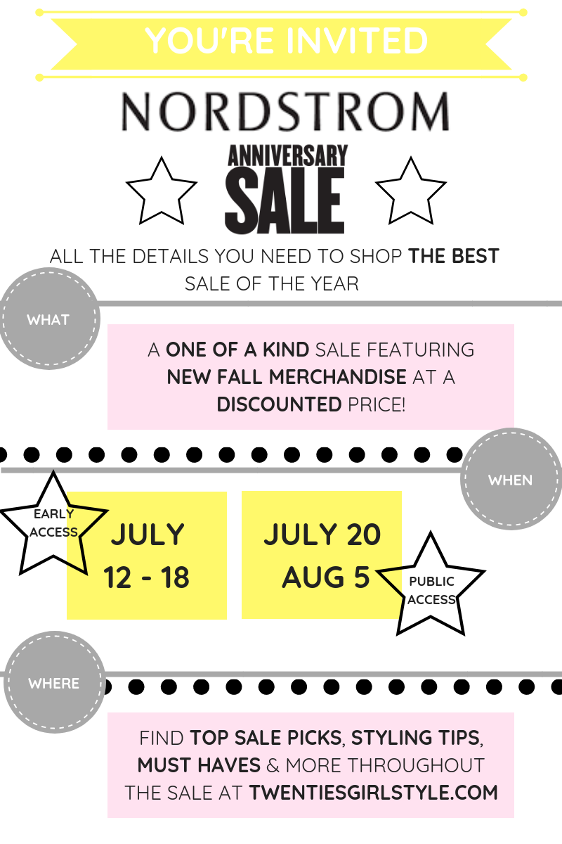 You're Invited! 2019 Nordstrom Anniversary Sale Rundown!