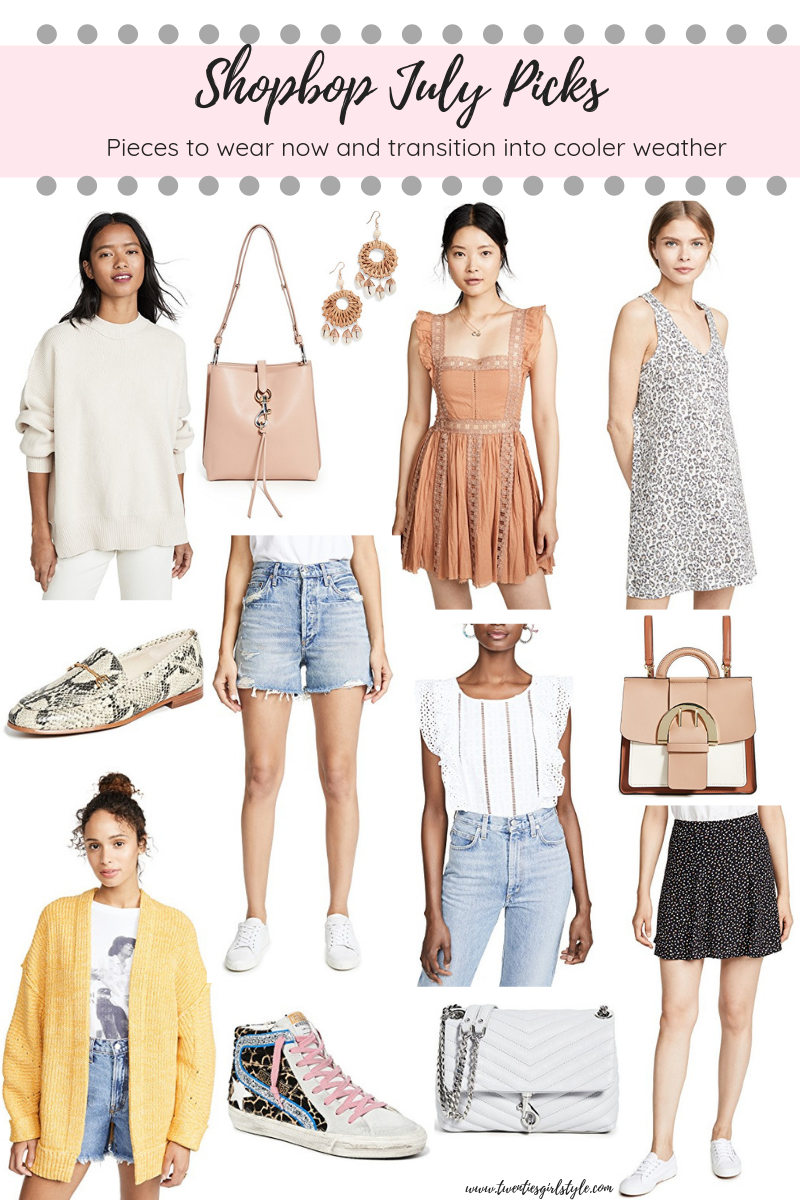 July Shopbop Picks