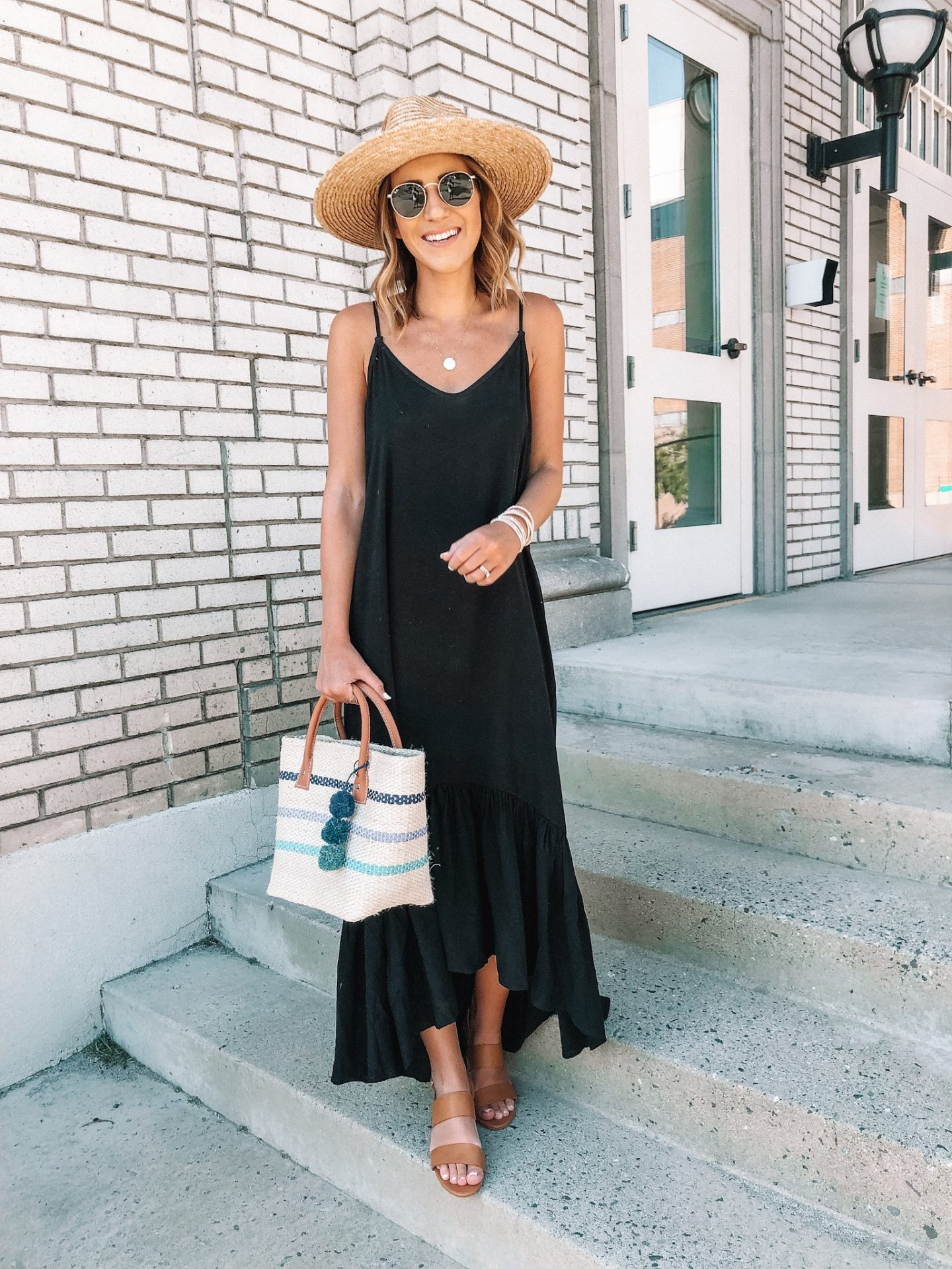 A Black Maxi for Every Season