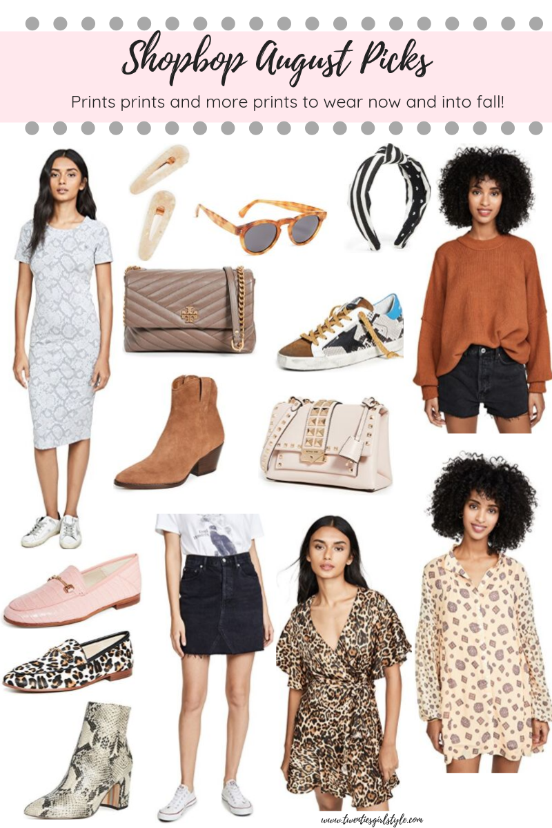 August Shopbop Picks