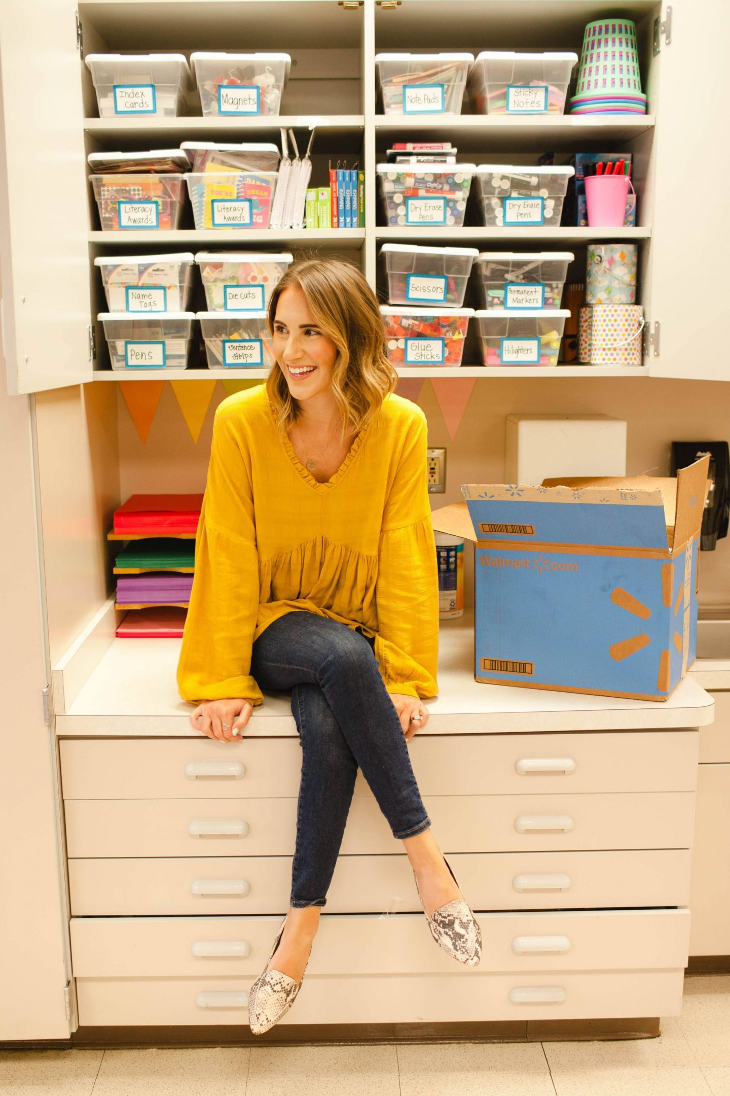 Classroom Supplies and Organization with Walmart