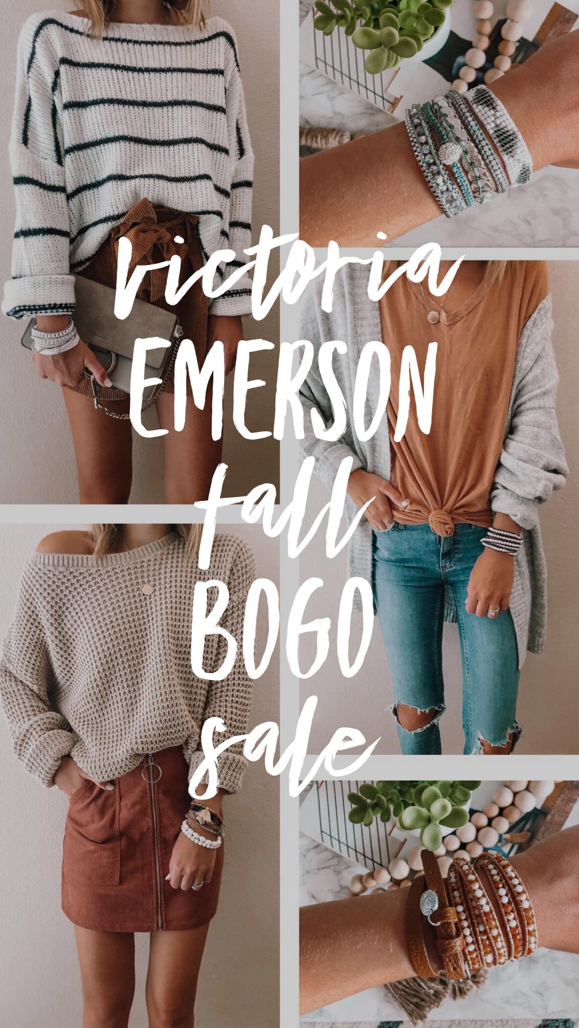 Victoria Emerson Fall BOGO Sale!