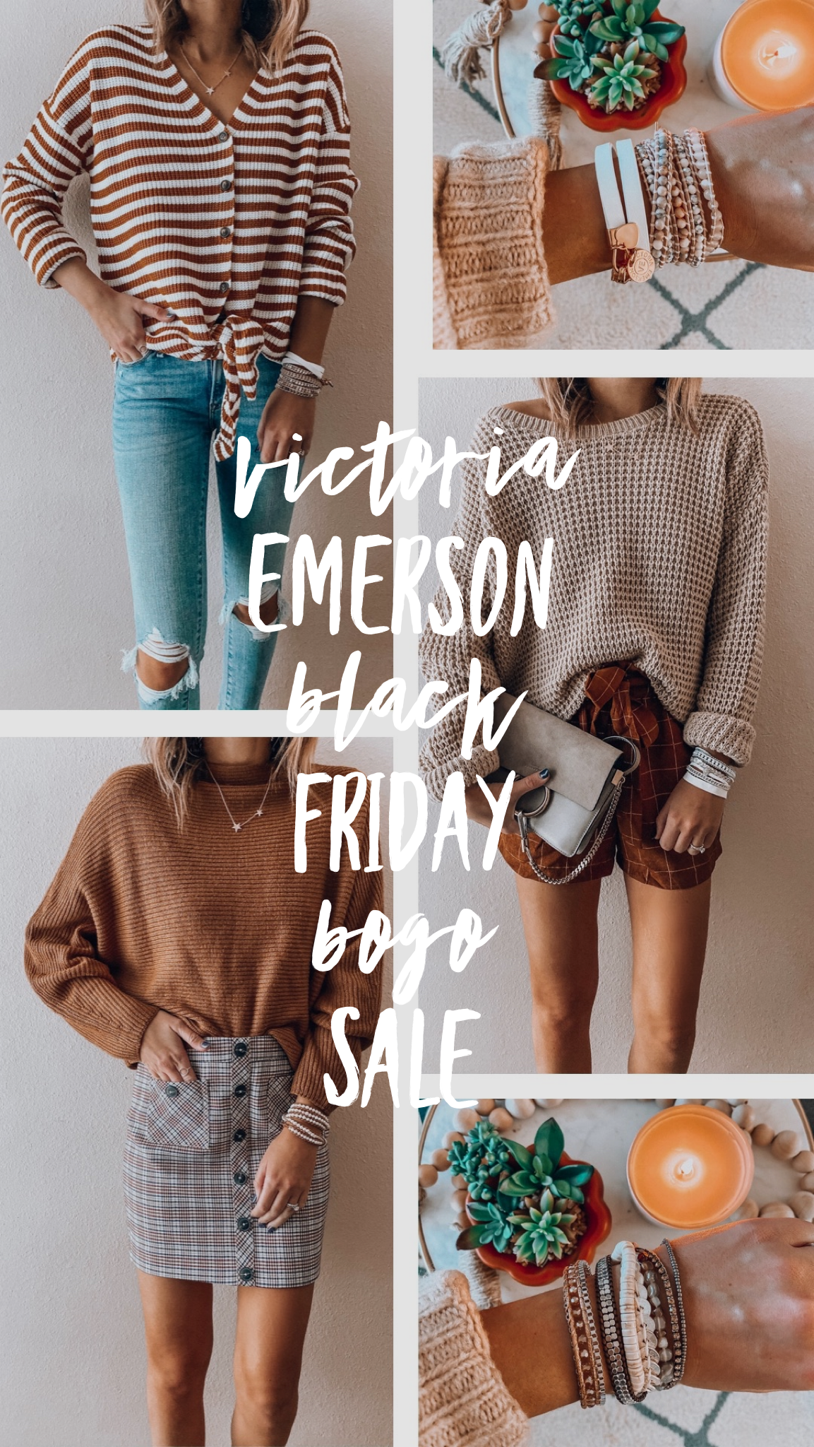 Victoria Emerson Black Friday BOGO Sale!
