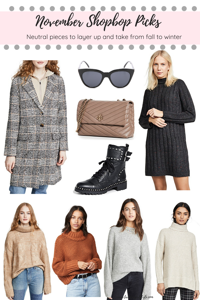 November Shopbop Picks